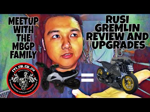 RUSI GREMLIN MOTORCYCLE REVIEW AND UPGRADES
