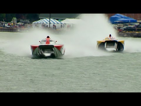 Race World Offshore 2018 CBS TV show from Mentor OH & Dunkirk NY