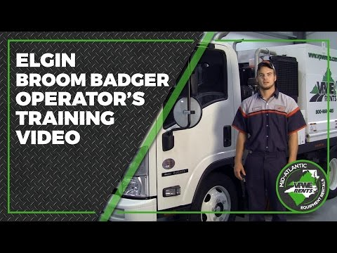 Elgin Broom Badger Operator's Training Video
