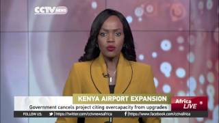 Kenyan government cancels main airport expansion project