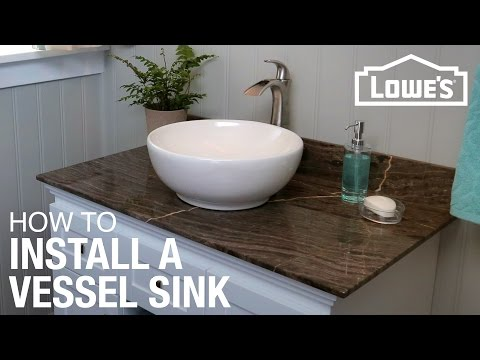 How to Install a Vessel Sink