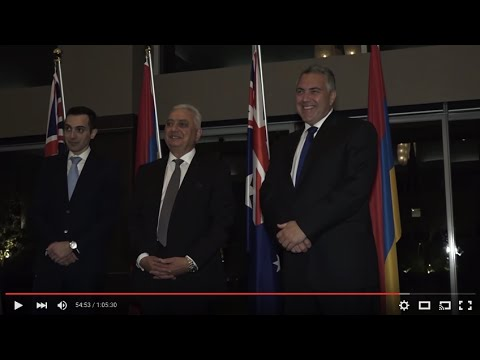 Armenia TV (Australia) - Episode 02-2016 - ANC Australia Annual Banquet and Davit Ishkhanyan