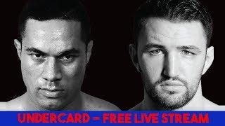 Joseph Parker v Hughie Fury | Undercard | FREE LIVE STREAM