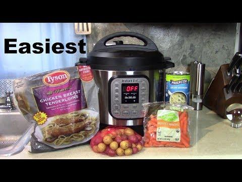 Instant Pot Easy Chicken Stew