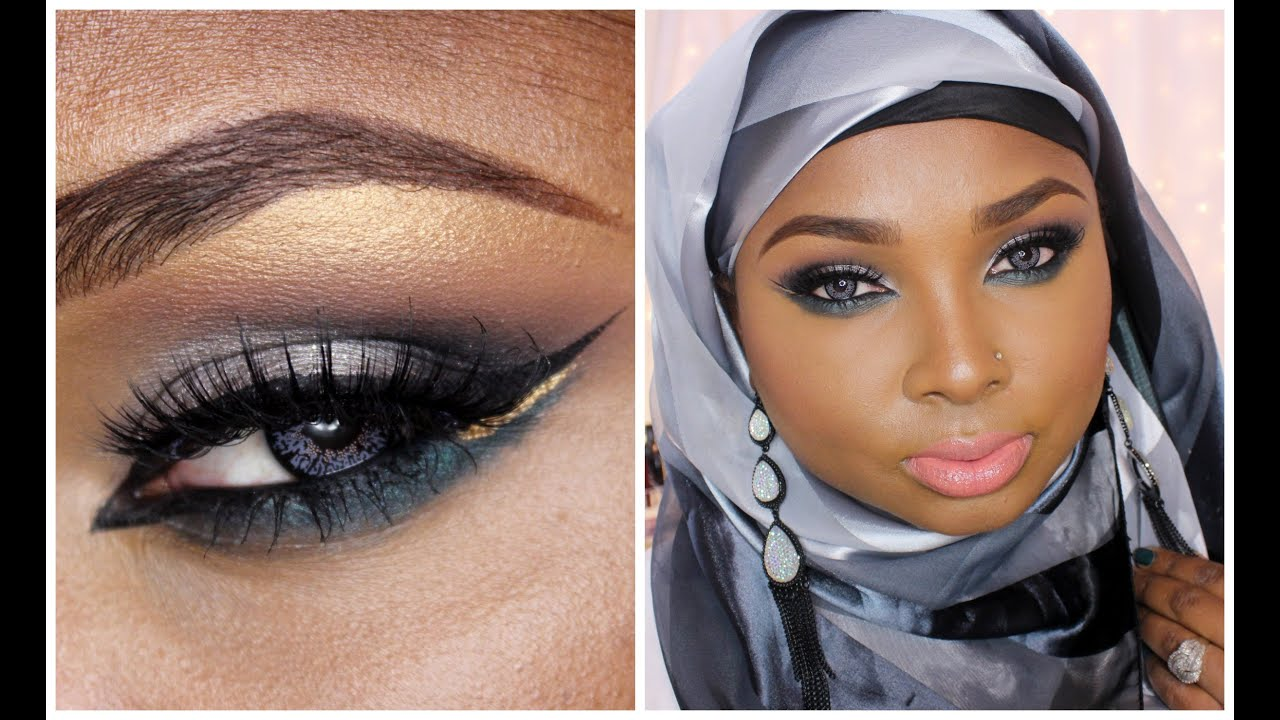 full face make up tutorial eid make up collab with