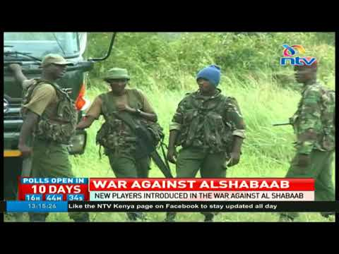 New players introduced in the war against Al shabaab in Boni forest