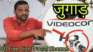 DD Free Dish and chinasat 11@98 E Dish Setting on 60 Cm Dish|Ten Sports Free On DD Free Dish