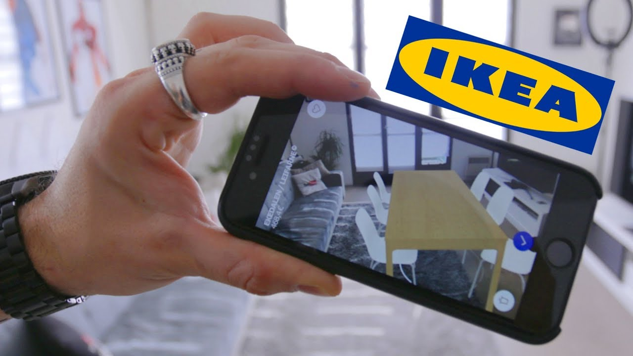 IKEA EN RÉALITÉ AUGMENTÉE POUR SMARTPHONE !