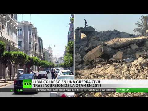 Libia: El antes y el después del derrocamiento de Gaddafi en imágenes