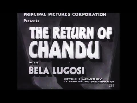 Horror Adventure Fantasy Movie - The Return of Chandu (1934) - Bela Lugosi