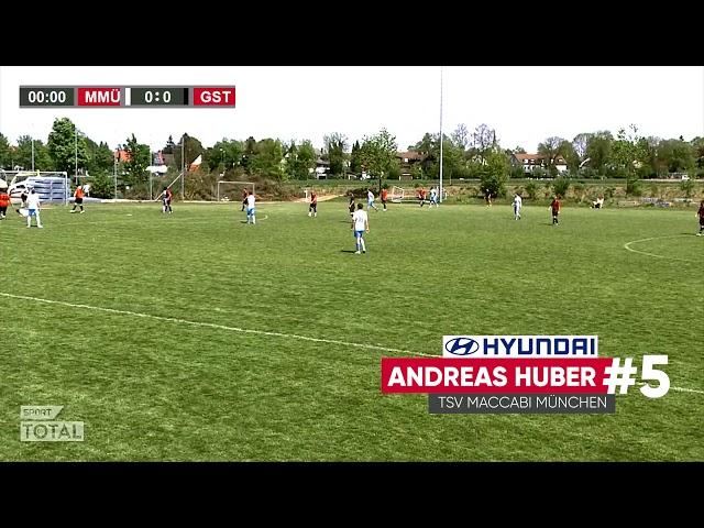 SporttotalTV Tor des Monats Andreas Huber