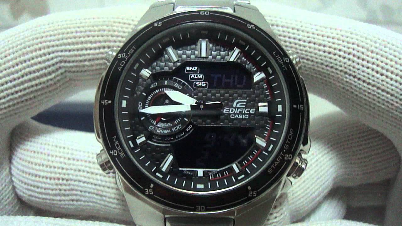 506c8c368410 Casio Edifice EFA131D-1A1V - YouTube