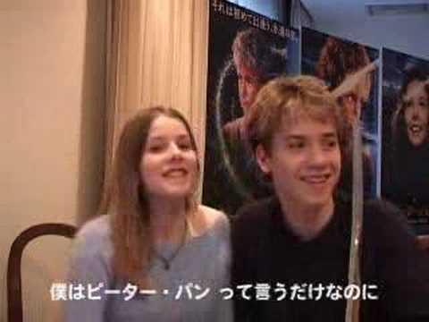 Jeremy Sumpter Rachel Hurd Wood In Japan Youtube