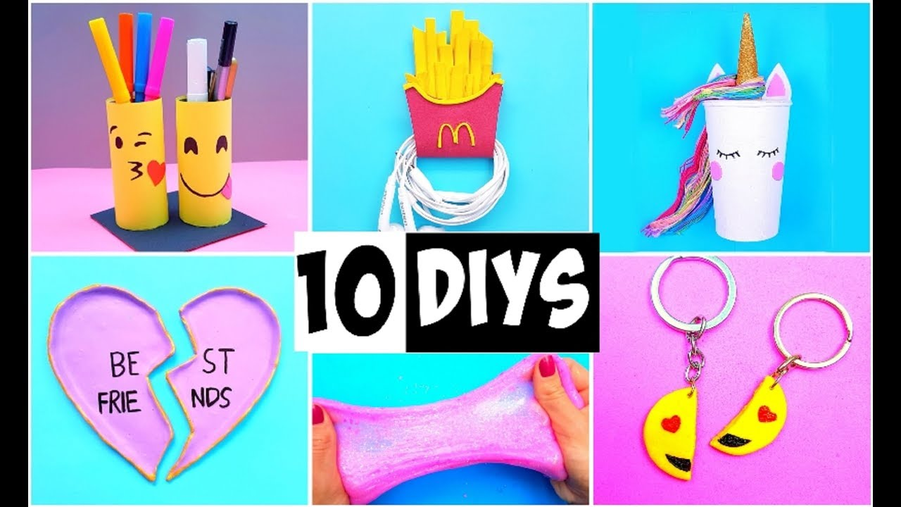 making 10 amazing diy