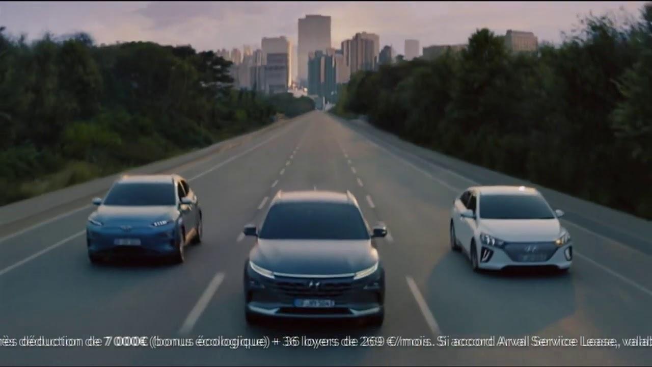 """Musique de la pub Kona electric Hyundai """"la plus large gamme de véhicules électriques""""  2021"""