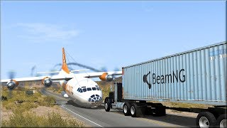 Plane Crashes #6 BeamNG Drive