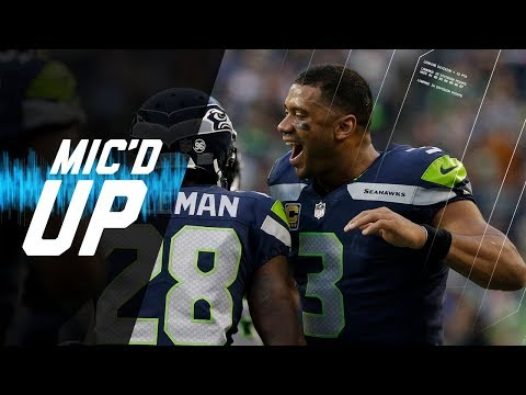 """Russell Wilson Mic'd Up vs. Colts """"That's a Touchdown All Day"""" (Week 4) 