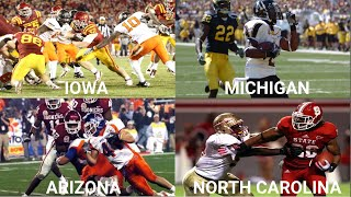 Biggest College Football Upset in Every State 2000-2018
