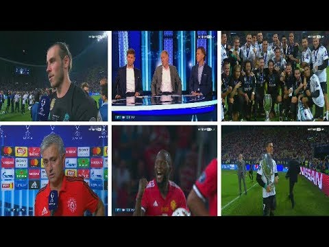 Real Madrid Vs.Manchester United  ◘ Super Cup  ◘ Post Match ◘ 08/08/2017 HD