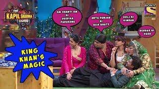 Shahrukh Khan Flatters His Not So Charming Divas -  The Kapil Sharma Show