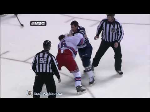 Sean Avery vs Jordin Tootoo Nov 27, 2010