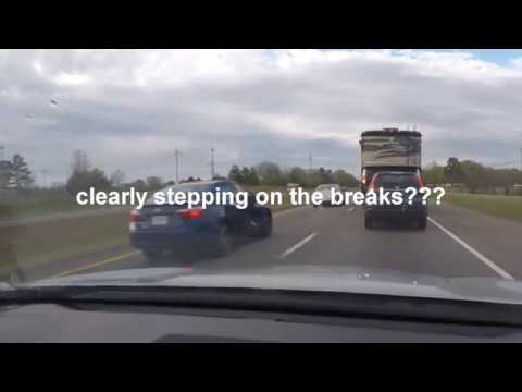 Road Rage - Teen drivers piss off 2 different cars