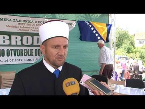 Derventa - Otvorena džamija 16.07.2017.