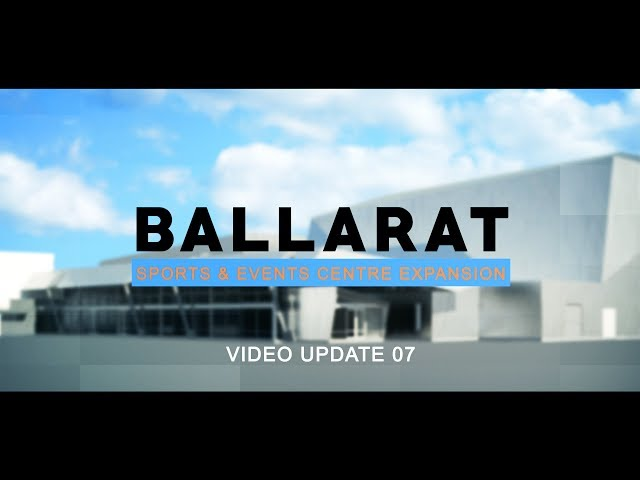 Ballarat Sports and Events Centre Video 07