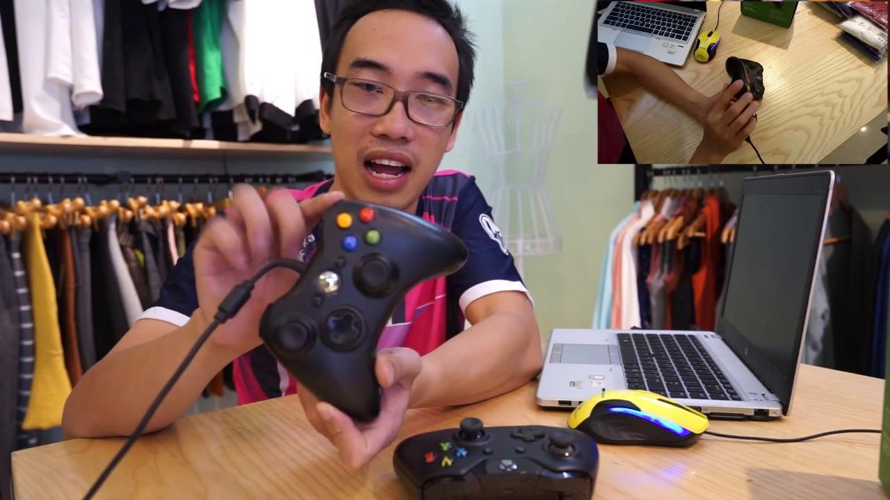 Bình Be | Giới thiệu cặp đôi tay cầm (gamepad) microsoft xbox 360/ xbox one chơi game fifa
