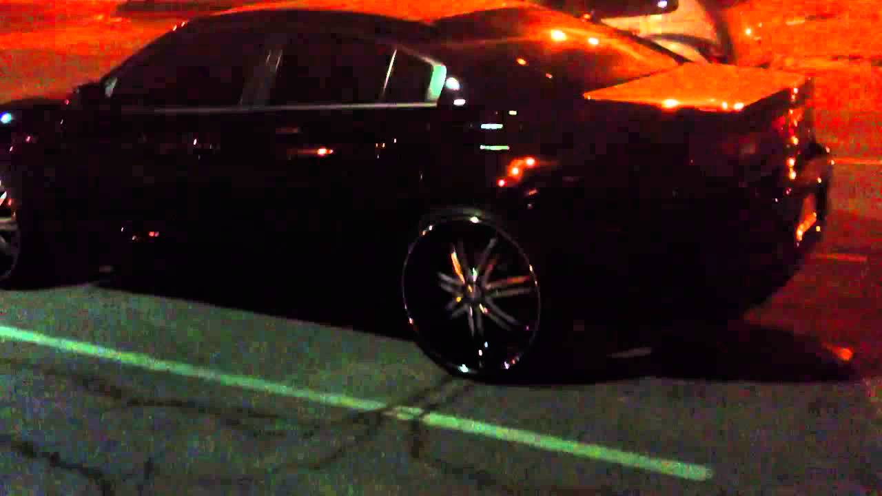 2013 Charger On 24s Youtube