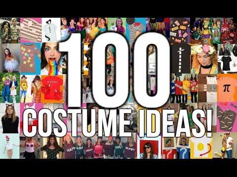 100 LAST MINUTE HALLOWEEN COSTUME IDEAS!!