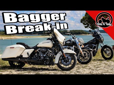 Breaking In a NEW 2018 Harley Street Glide