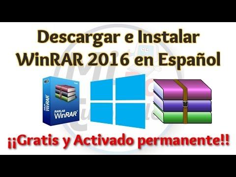 Tutorial WinRAR 2016 Español 32 y 64 bits en Windows | WinRAR full | MiPC Tutoriales
