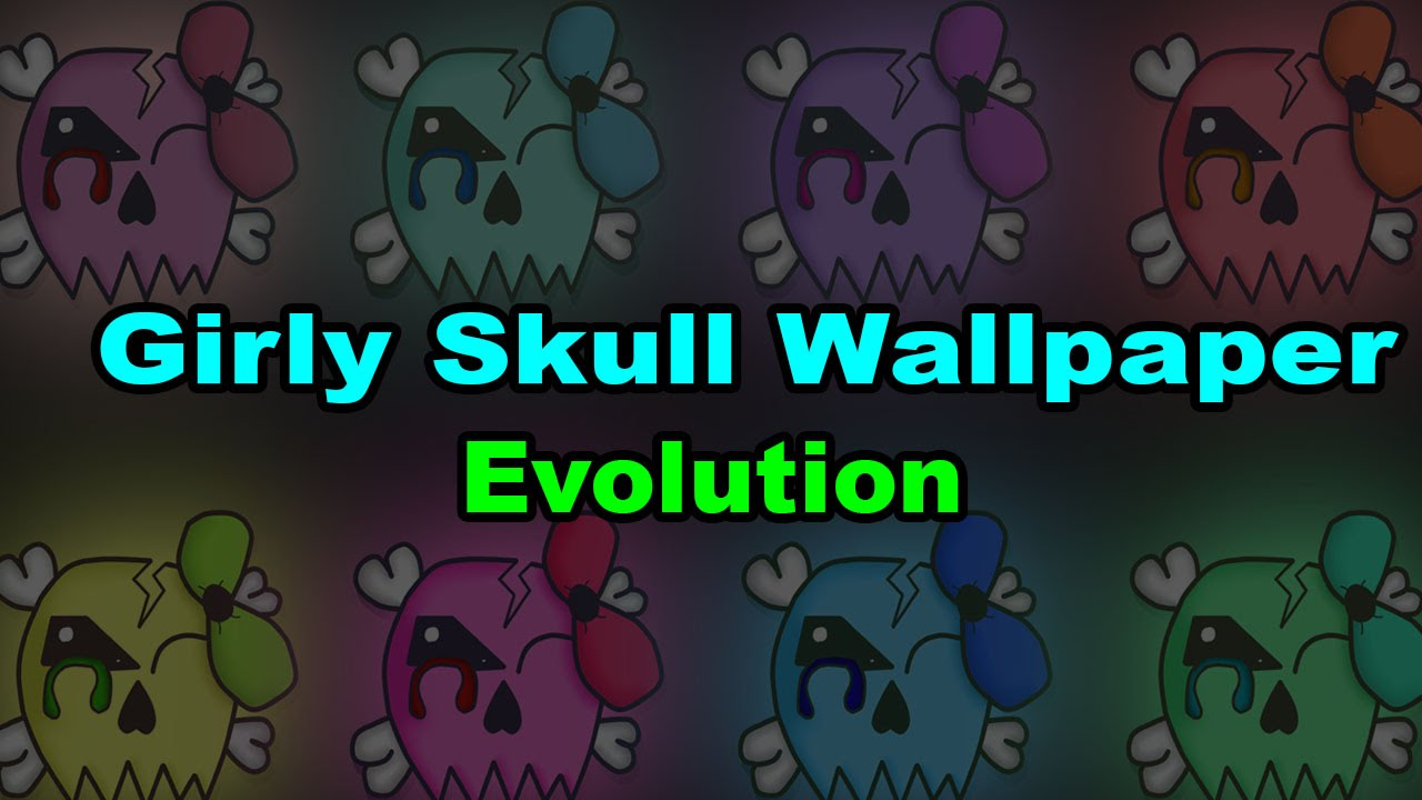 Girly Skull Wallpaper Youtube