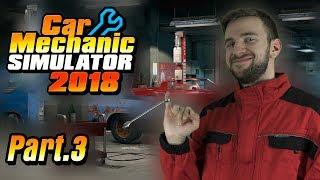 ROZŠÍŘENÍ DÍLNY! | Car Mechanic Simulator 2018 #03