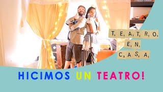 Cómo hacer un teatro en casa por Los Rockan
