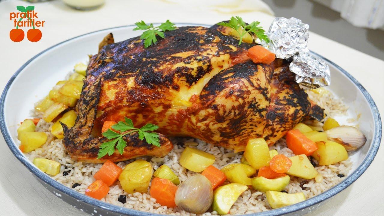 İçli Tavuk Tarifi