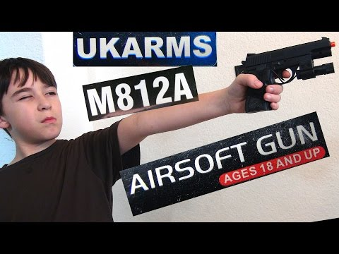 UKARMS M812A Spring Pistol with Laser with Robert-Andre!