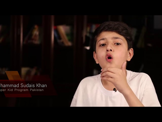 Super Kids Program Pakistan / Muhammad sudais Khan / Training