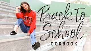 (too cool for) BACK TO SCHOOL LOOKBOOK 2017