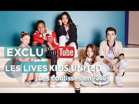 Les répet' des Kids United en 360°