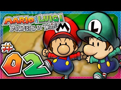Mario and Luigi: Partners In Time - Part 2: A Younger Mushroom Kingdom!
