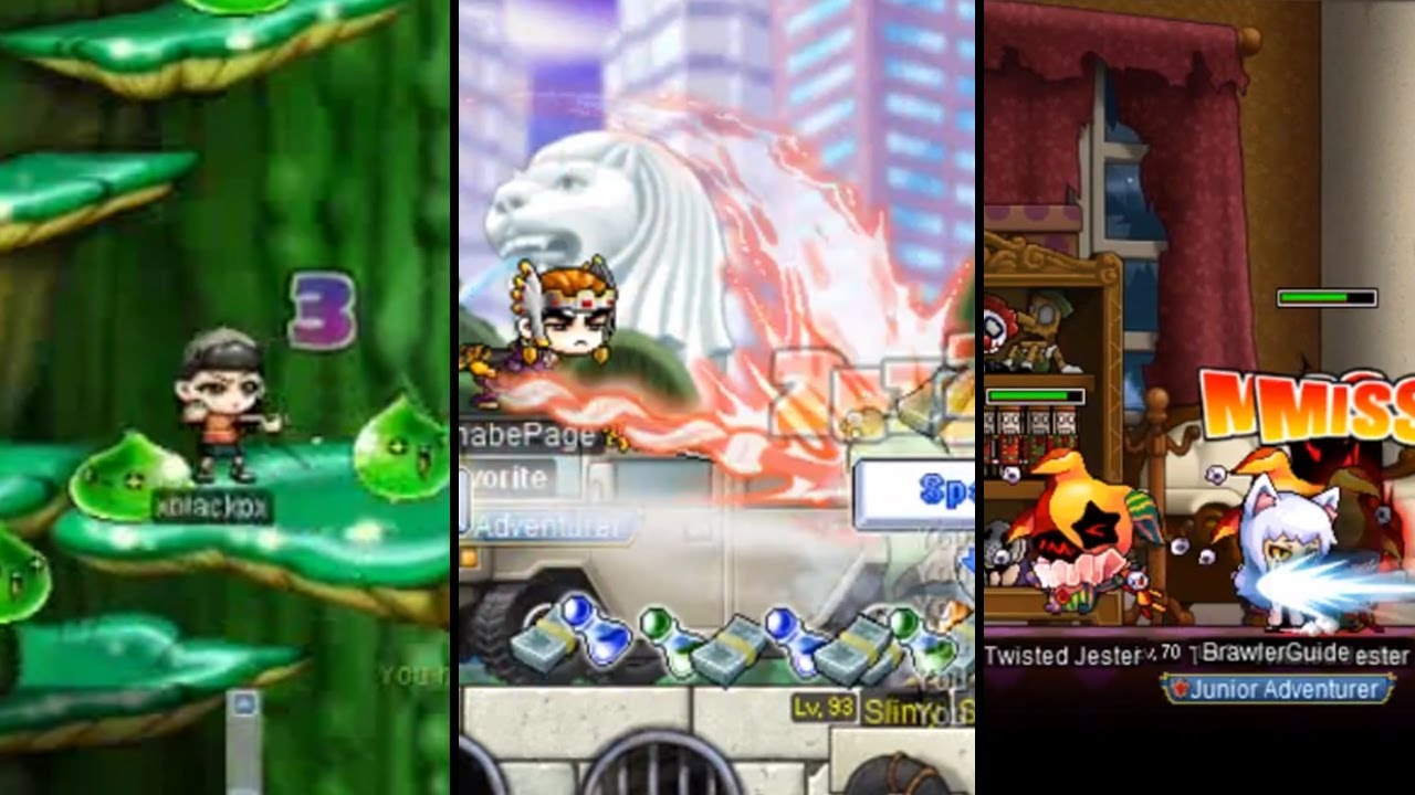Only REAL MapleStory Veterans Trained Here | Pre Big Bang | Nostalgia