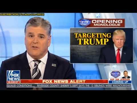 Hannity Fox News Jan 19,2018 - Sean Hannity Show 1/19/2018