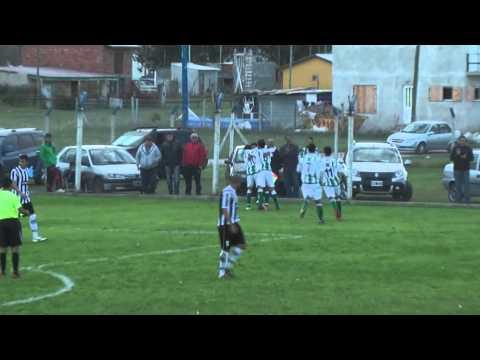 América (General Pirán) 0 - Kimberley (Mar del Plata) 1 Gol Santiago Palavecino