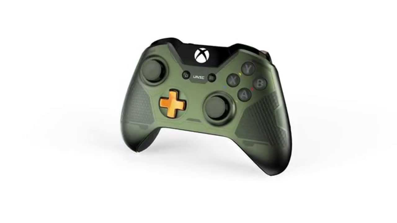 Halo 5 Guardians Master Chief Xbox One Special Controller