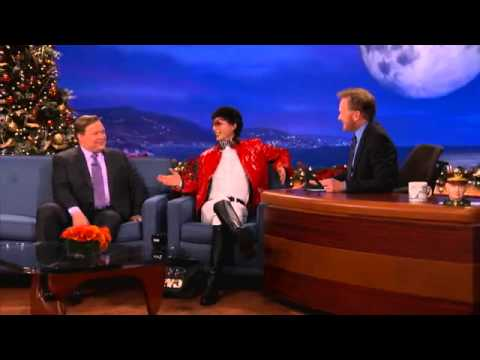 Kevin Lee on Conan O'Brien 12-20-11