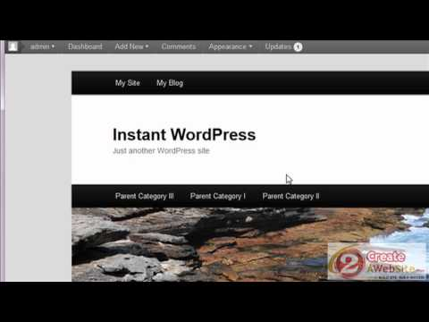 How to Use the WordPress Menu Feature