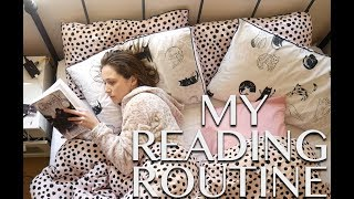 MY READING ROUTINE