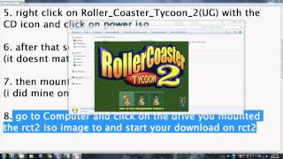 How to get Roller Coaster Tycoon 2 with expansion packs